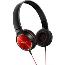 PIONEER Kõrvaklapid, 40mm punane/must
