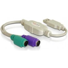 Delock USB1.1 адаптер A -> 2x PS/2 St/Bu