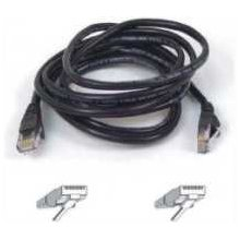 BELKIN CAT 5 e network cable 1,0 m UTP black...