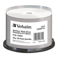 Toorikud Verbatim 1x50 CD-R 80 / 700MB 52x...