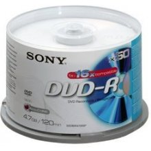 Диски Sony DVD-R 4,7 GB | 16x [bulk 50 pcs]