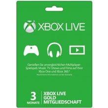 Microsoft Xbox 360 LIVE 3m Gold Subscription