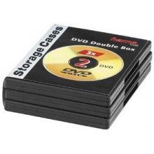 Diskid Hama DVD-Doppel-Leerhülle mit Folie
