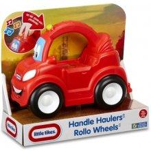 LITTLE TIKES Czerwone auto