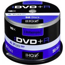 Диски INTENSO DVD+R 4.7GB 16X 50er Spindel