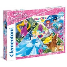 CLEMENTONI Puzzle 104 pcs - Disney Princess