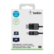 BELKIN MINI DISPLAYPORT F/HDMI kaabel
