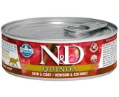 Farmina N&D QUINOA Skin&Coat Venison &...