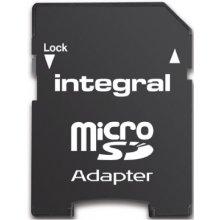 Mälukaart INTEGRAL mälu card micro SDHC 16GB...
