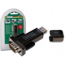 DIGITUS konverter D-Sub 9 Male, USB 2.0