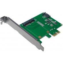LogiLink PC0077 PCI-Express Karte 1x mSATA...