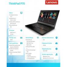 Sülearvuti LENOVO ThinkPad P70 20ER000DPB...