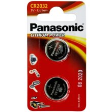 PANASONIC 1x2 CR 2032 литий Power
