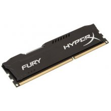 Mälu KINGSTON HyperX FURY Black 4 GB, DDR3...