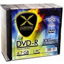 Diskid Extreme DVD-R 4,7 GB x16 - Slim 10