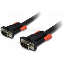 Unitek kaabel VGA HD15 M/M 1.5m, Premium...