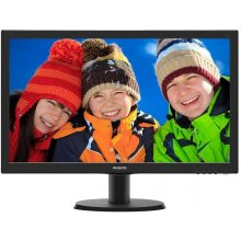 "Monitor Philips 243V5QHSBA, 23,6"", panel..."