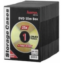 Диски Hama Slim DVD Jewel Case pack of 25...