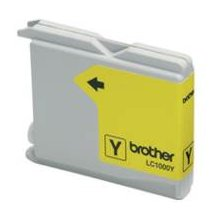 Tooner BROTHER tint LC1000Y kollane | 400pgs...