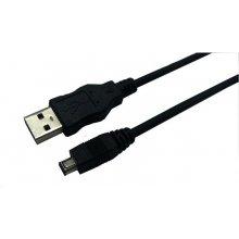 LogiLink USB kaabel A -> mini B St/St 1.80m...