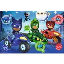 TREFL Puzzle 60 pcs - PJ Masks, Night race