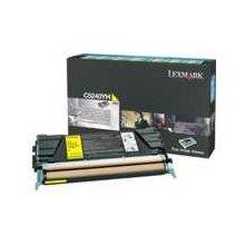 Tooner Lexmark C524 Rückgabe Toner kollane