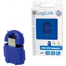 LogiLink - USB OTG Adapter, blue