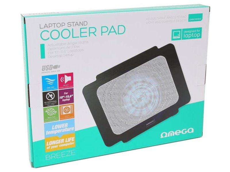 14dbb7897d8 OMEGA sülearvuti jahutusalus Breeze, valge 42616 - OX.ee