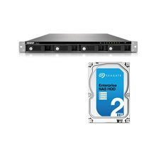 QNAP TS-453U RACK 8TB SEAGATE E-NAS