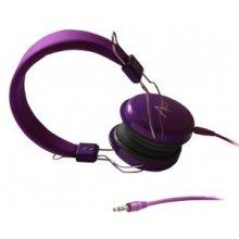 ART Headphone AP-60C koos mikrofon purple