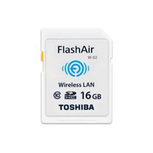Флешка TOSHIBA FlashAir WiFi SD-Card 16 GB