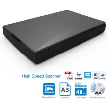 Сканер MUSTEK чёрный A3 1200HS Scanner/ USB...