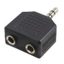 LogiLink CA1002 stereo adapter 3.5mm Klinke...