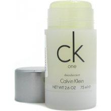 Calvin Klein CK One Deostick 75ml - unisex...