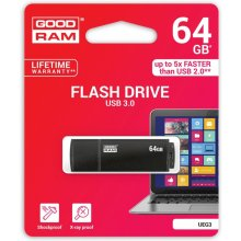 Флешка GOODRAM EDGE 64GB USB3.0 чёрный