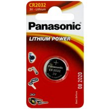 PANASONIC CR2032, liitium, 1 pc(s)