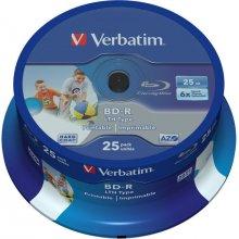 Диски Verbatim 1x25 BD-R Blu-Ray 25GB 6x...