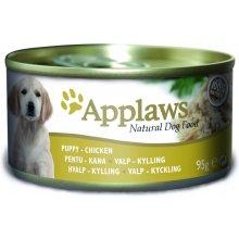 Applaws консервы для щенков с курицей - 95g