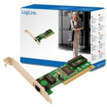 Võrgukaart LogiLink PCI network card PCI