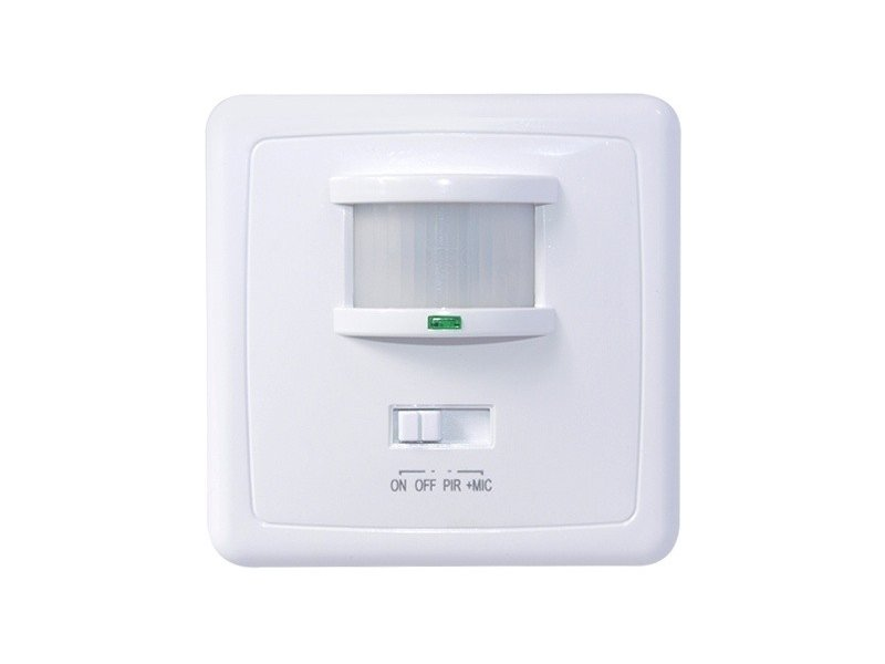 Maclean The motion sensor and a sound wall pir mic MCE18