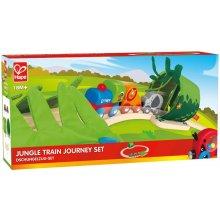Hape TRAIN Queue set jungle