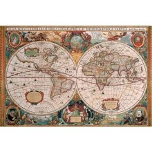 RAVENSBURGER RAVEN. 5000 EL. Antyczna Mapa...