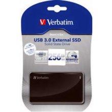 Жёсткий диск Verbatim SSD 256GB внешний 3.0...