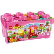 LEGO Duplo set koos pink blocks