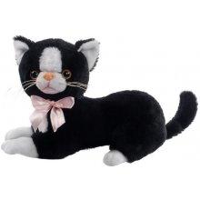 Beppe Czarny kot Flico z kokardą