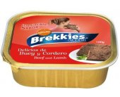Brekkies Cat Wet Beef & Lamb 100g