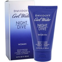 Davidoff Cool Water Night Dive, ihupiim...