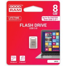 Флешка GOODRAM POINT серебристый 8GB USB3.0