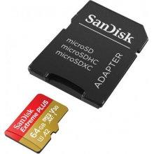 Mälukaart SanDisk microSDXC 64GB Extreme...