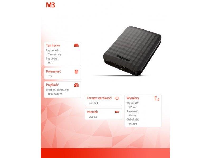 474e8b099cb Kõvaketas MAXTOR väline HDD M3 Portable 2.5